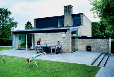 moderne 50er hus rene linjer og masser af sjl boligliv - Moderne Huser 2015