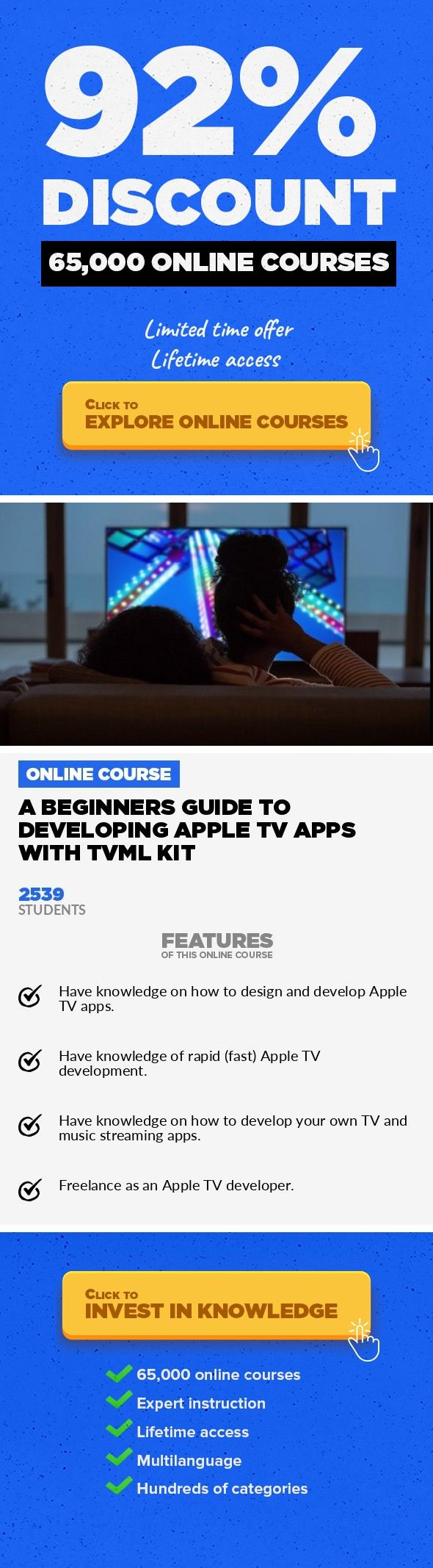 A Beginners Guide to Developing Apple TV Apps With TVML Kit