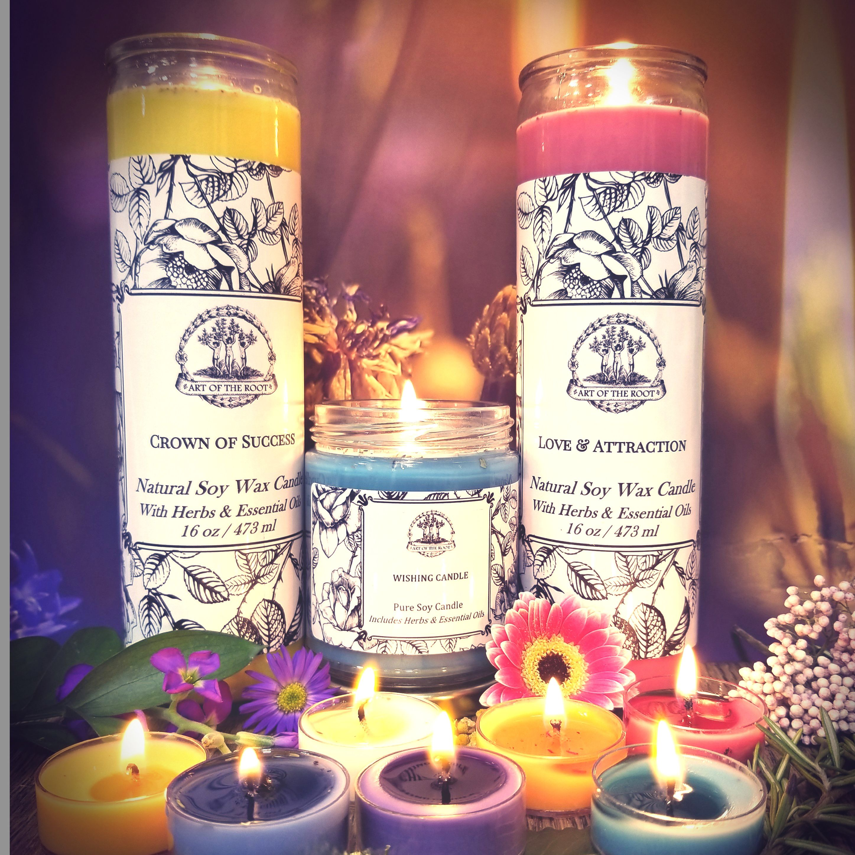 From 7 Day Candles To Tea Lights Sets Our Candles Are Made From