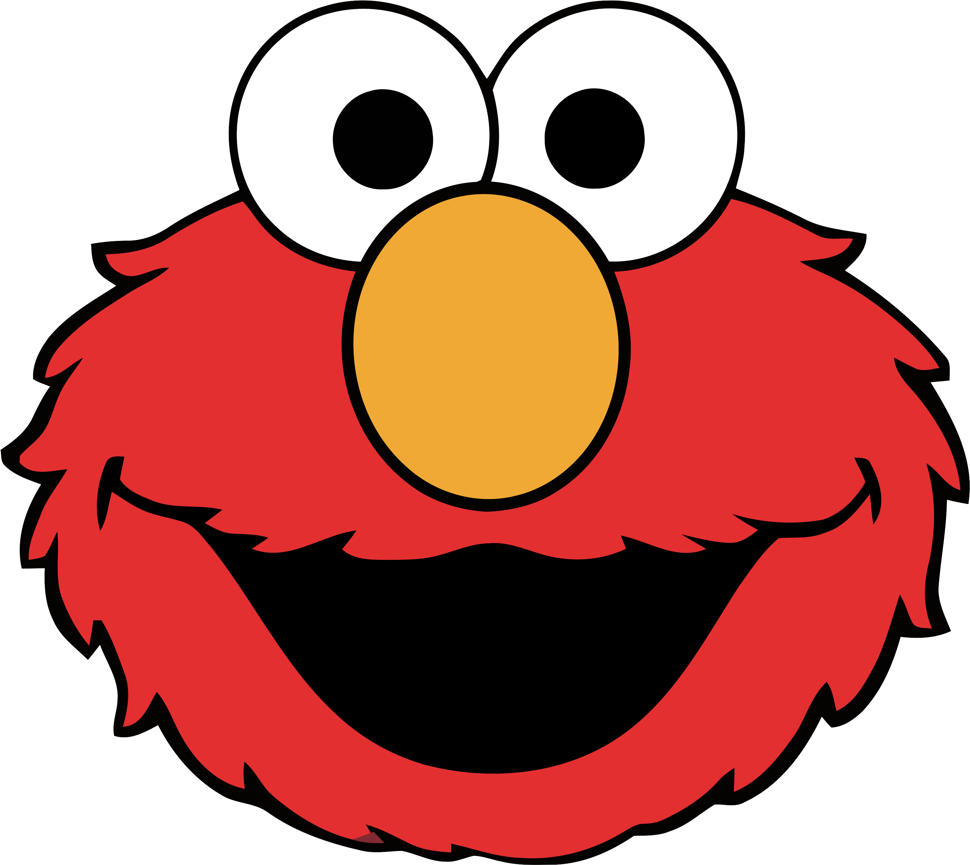 Clipart Mouth Cookie Monster Sesame Street Character
