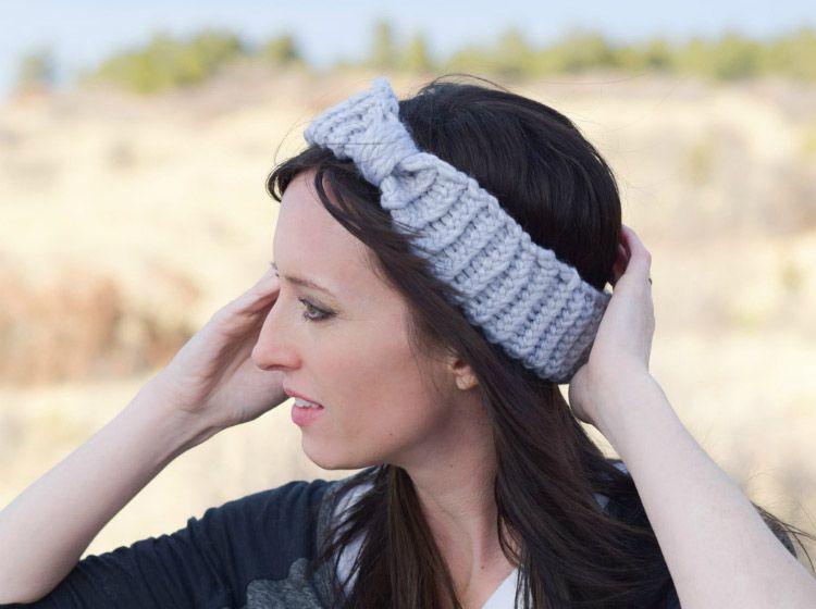Loom Knit Headband - Free Loom Knit Pattern - Darice ...