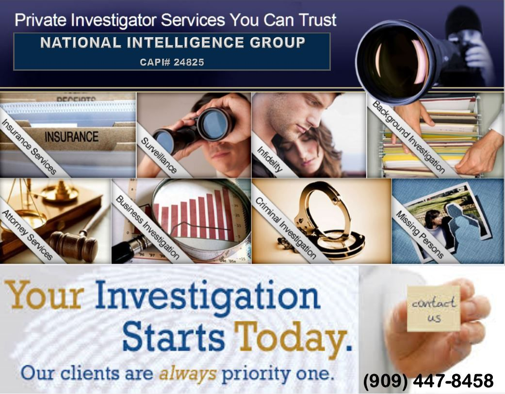 Private Investigation Services. Private investigator