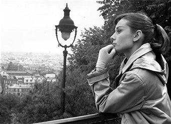 Audrey Hepburn. by Bert Hardy
