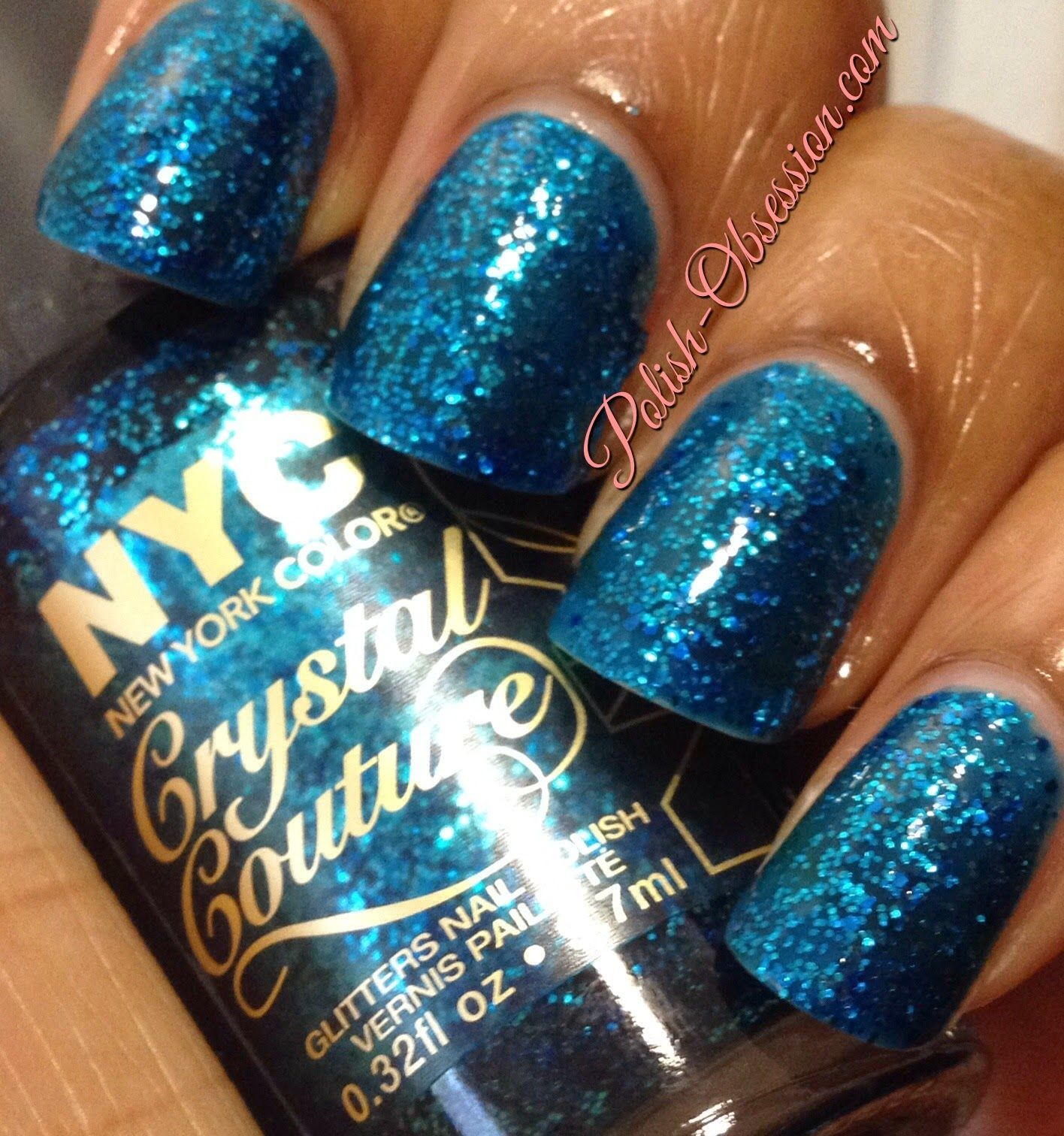 nyccolor Blue Majesty   Nails and Polish   Pinterest   Color nails ...