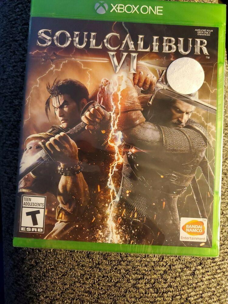 Soul Calibur VI (Microsoft Xbox One. 2018) SOULCALIBUR 6. New & Factory Sealed | Soul calibur. Xbox one. Xbox