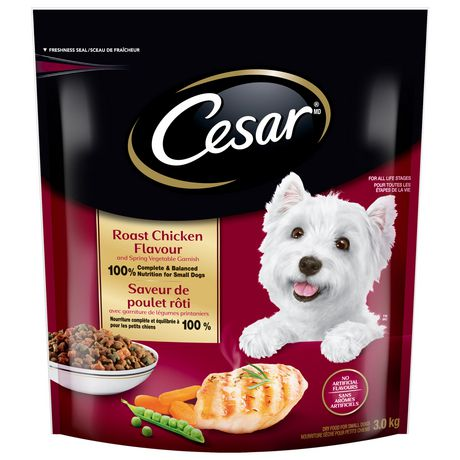Cesar Roast Chicken Flavour Dog Food For Small Dogs 3kg Roast