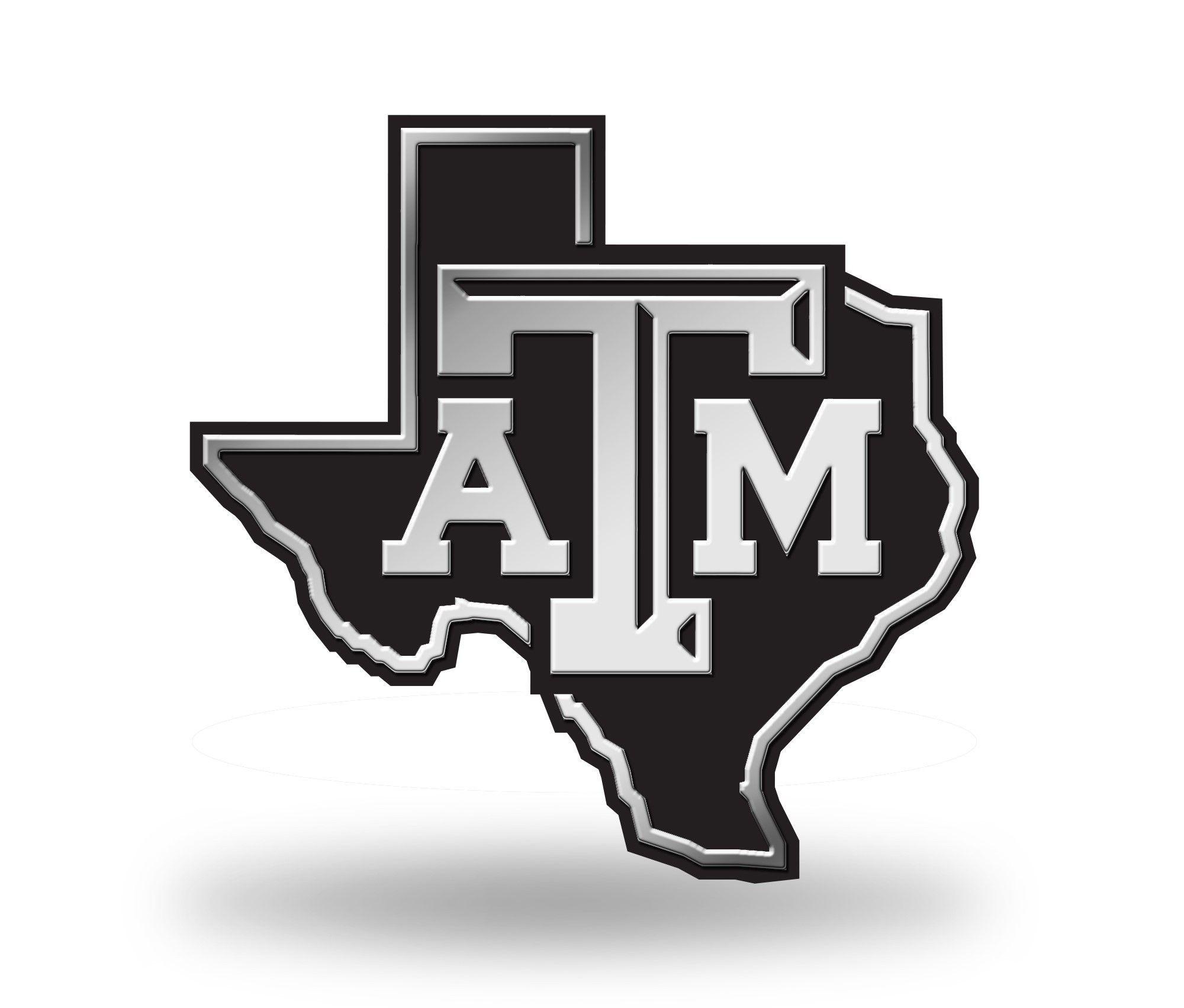 Texas A Amp M Aggies Logo 3d Chrome Auto Emblem New Truck Or