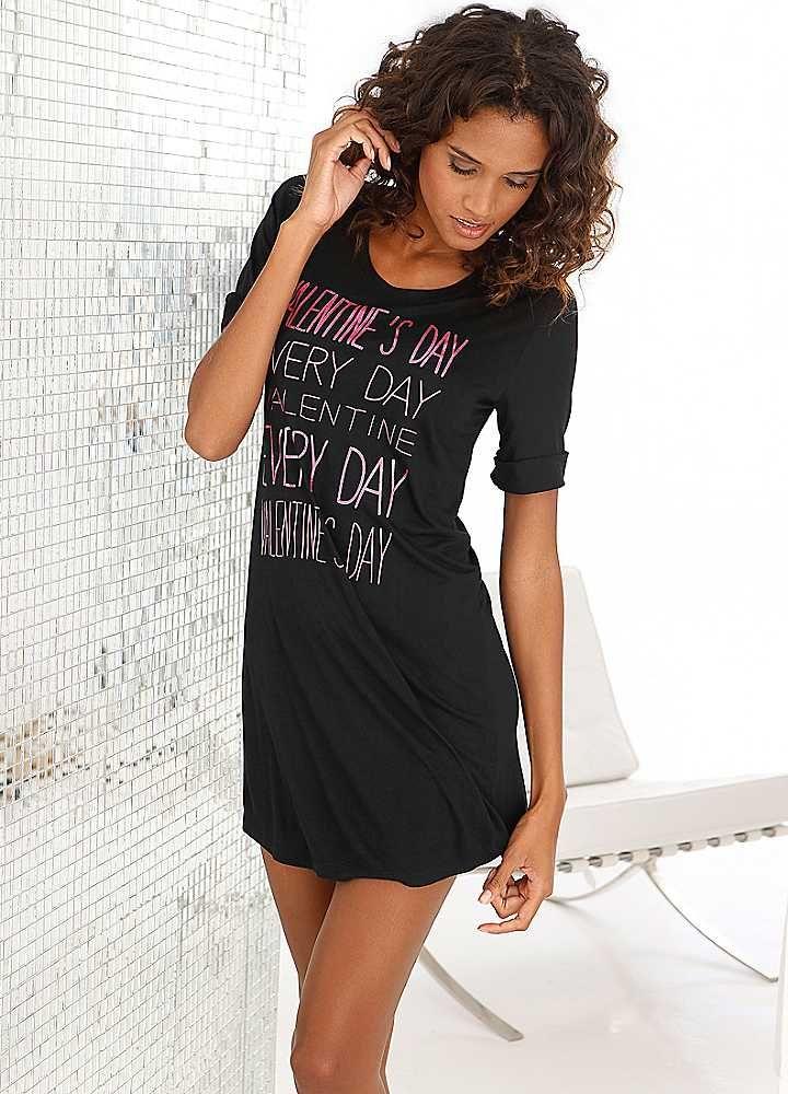 8cfdb3152369 T-Shirt Nightie by Buffalo Sleep Dress