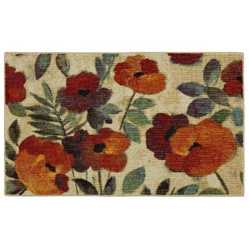 Merveilleux Mohawk® Home August Garden Floral Kitchen Rug