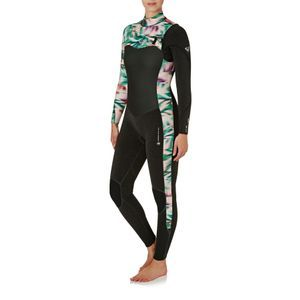 76527f035c5 Roxy Wetsuits - Roxy Womens Performance 4 3mm 2018 Chest Zip Wetsuit - Black