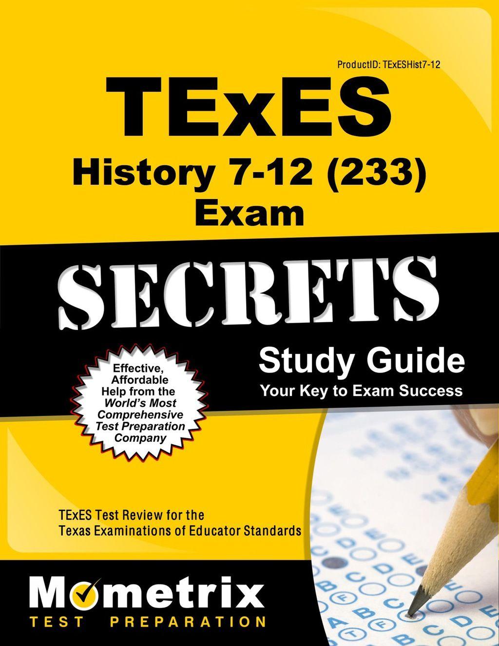Texes History 7 12 233 Secrets Study Guide Ebook Exam