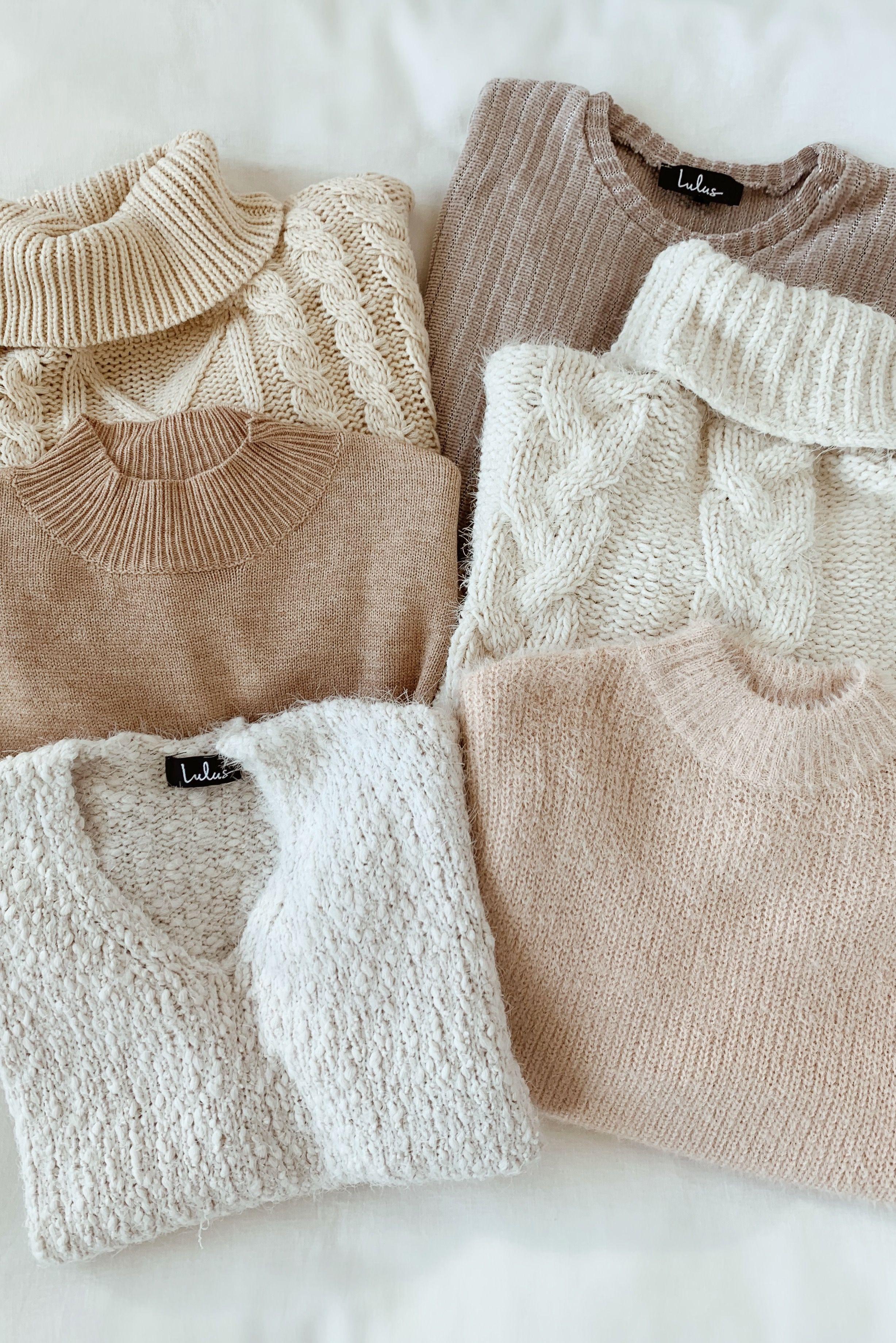 Get Cozy Ivory Sweater