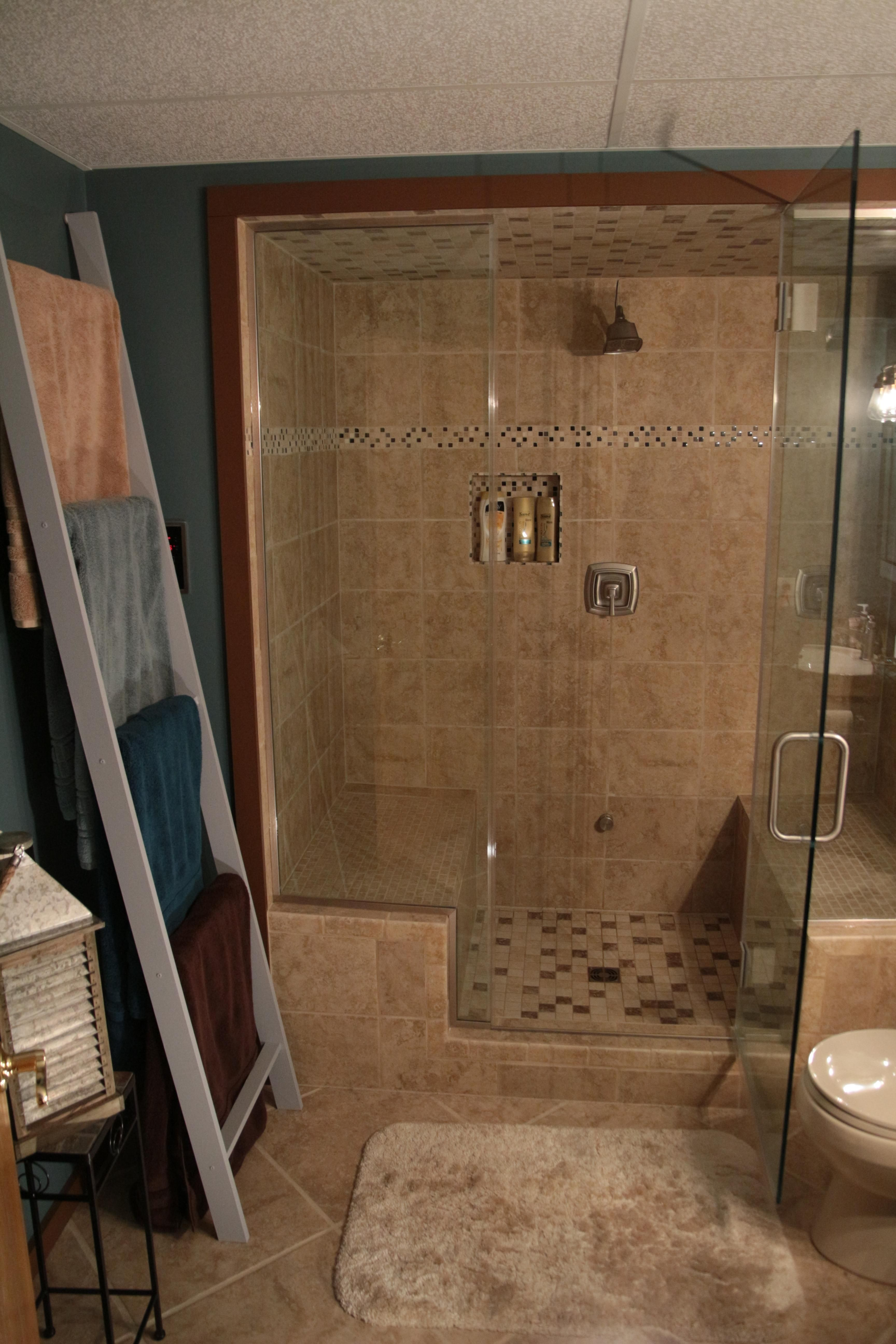 renovation: old bathroom to new steam room (#quickcrafter) | best of