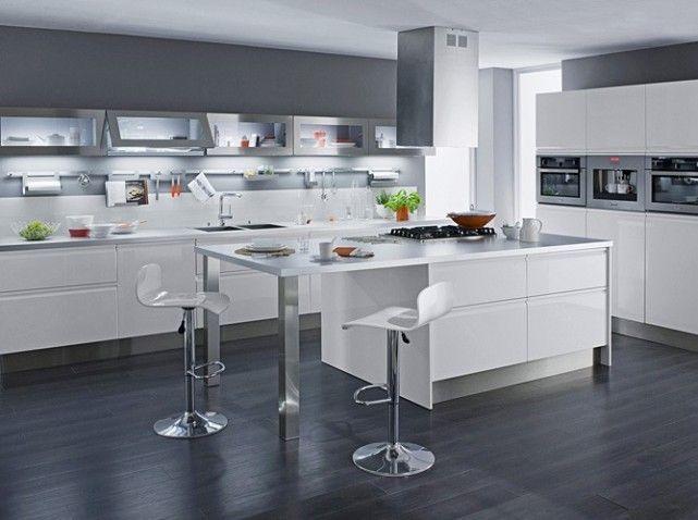 Une Cuisine Design Pour Un Interieur Contemporain Elle Decoration