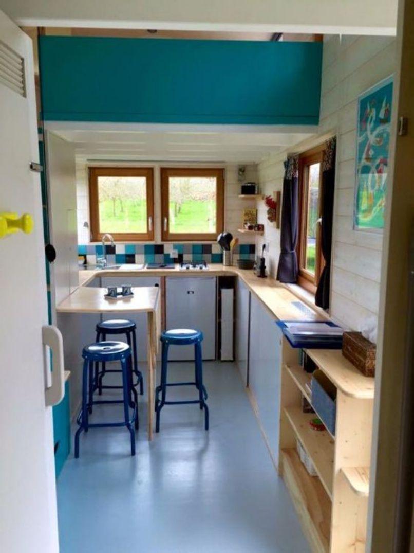 Tiny House Kitchen Counter Depth Tiny House Kitchen Tiny House On Wheels Tiny House Nation