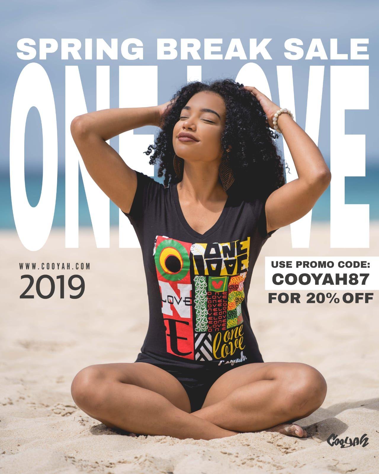 Cooyah Spring Break Sale Use Promo Code Cooyah87 For 20