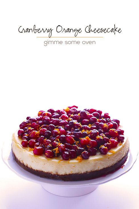 Cranberry Orange Cheesecake Recipe | Food & Bev...