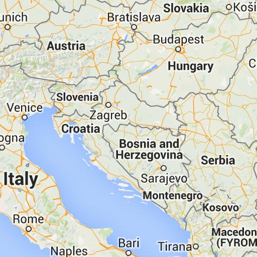 No Reservations In The Croatian Coast Croatia Italy Slovenia