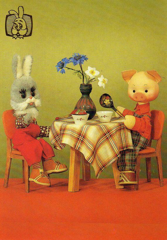 советские открытки игрушки свои