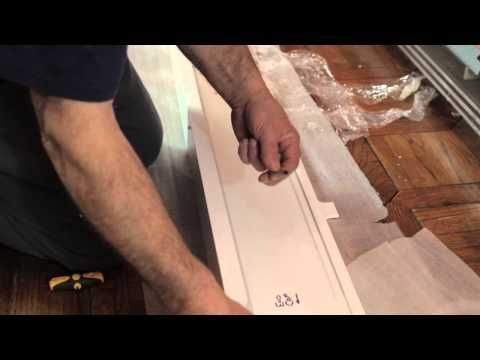 Overboards Diy Installation Video Using Standard End Caps Installation Baseboard Heater Heater Cover