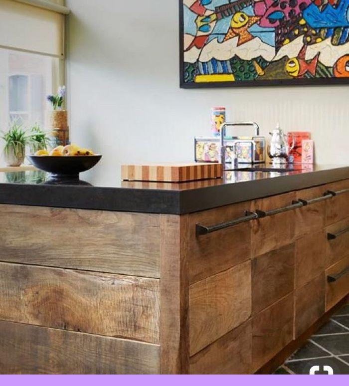 Dark, Light, Oak, Maple, Cherry Cabinetry And Plain Wooden