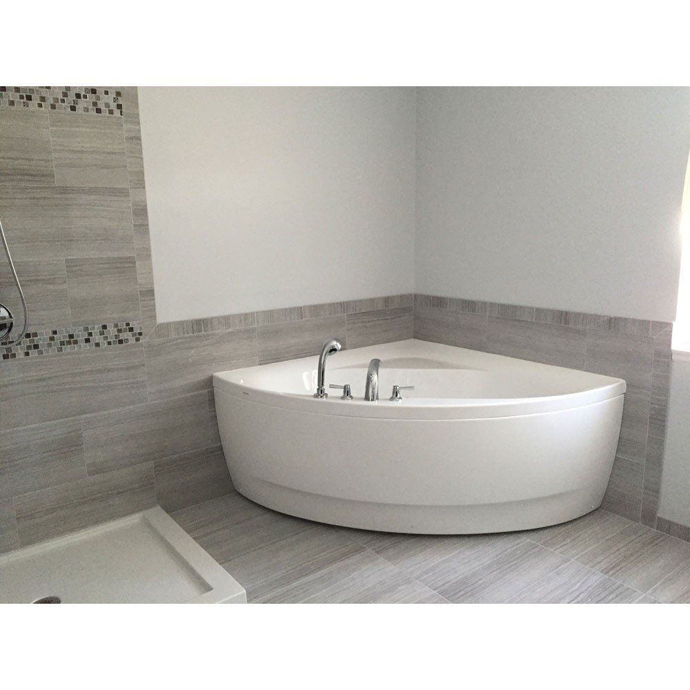 Olivia 55 inch acrylic corner bathtub | master bathroom ideas ...