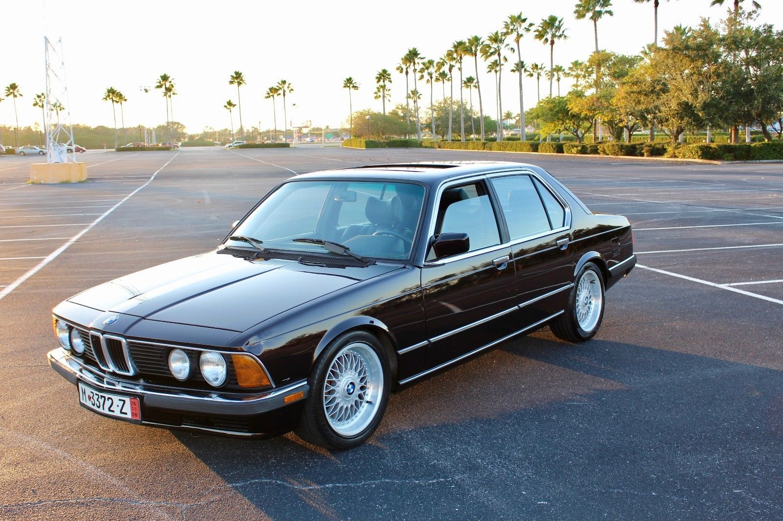1985 BMW 7-Series Luxury e23 model Unique 1985 BMW e23 735i Auto Clean  Title Lower Miles OEM Plus