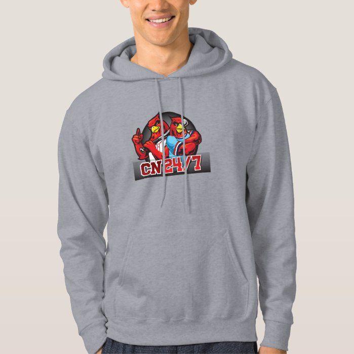 CN247 Men's Sweatshirt - Gray Size: Adult S. Color: Grey. Gender: male.