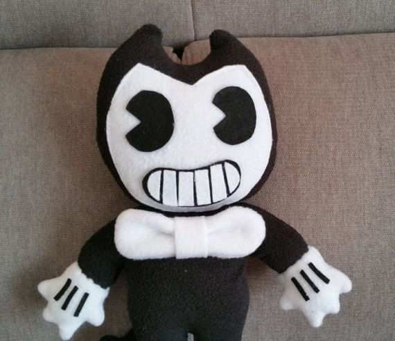 Handmade Bendy plush unofficialfrom Bendy and the ink ...