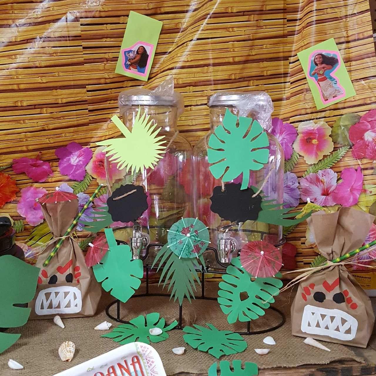 Pin by LunaMoon Events on Moana Theme- Kris | Moana theme ... |Moana Themed Christmas Tree
