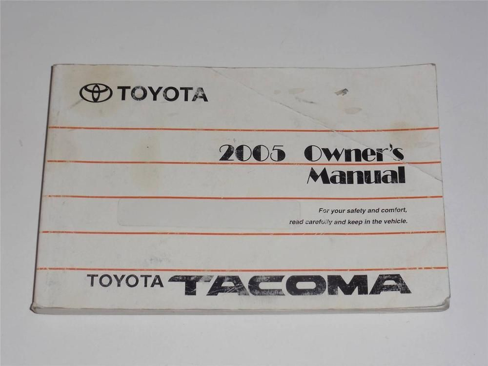 2005 toyota tacoma owners manual book owners manuals pinterest rh pinterest com 2005 toyota tacoma service manual 2004 tacoma owners manual pdf
