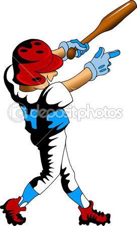 Vectores De Stock De Boy Playing Baseball Ilustraciones De Boy Playing Baseball Sin Royalties Baseball Players Baseball Boys Playing