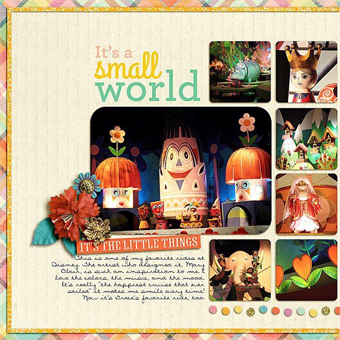 It's a Small World (L) - Scrapbook.com