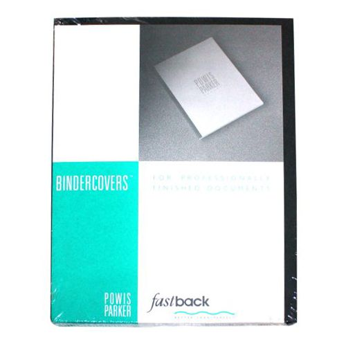 """Fastback Dark Gray 8.5"""" X 11"""" Binder Covers Without"""