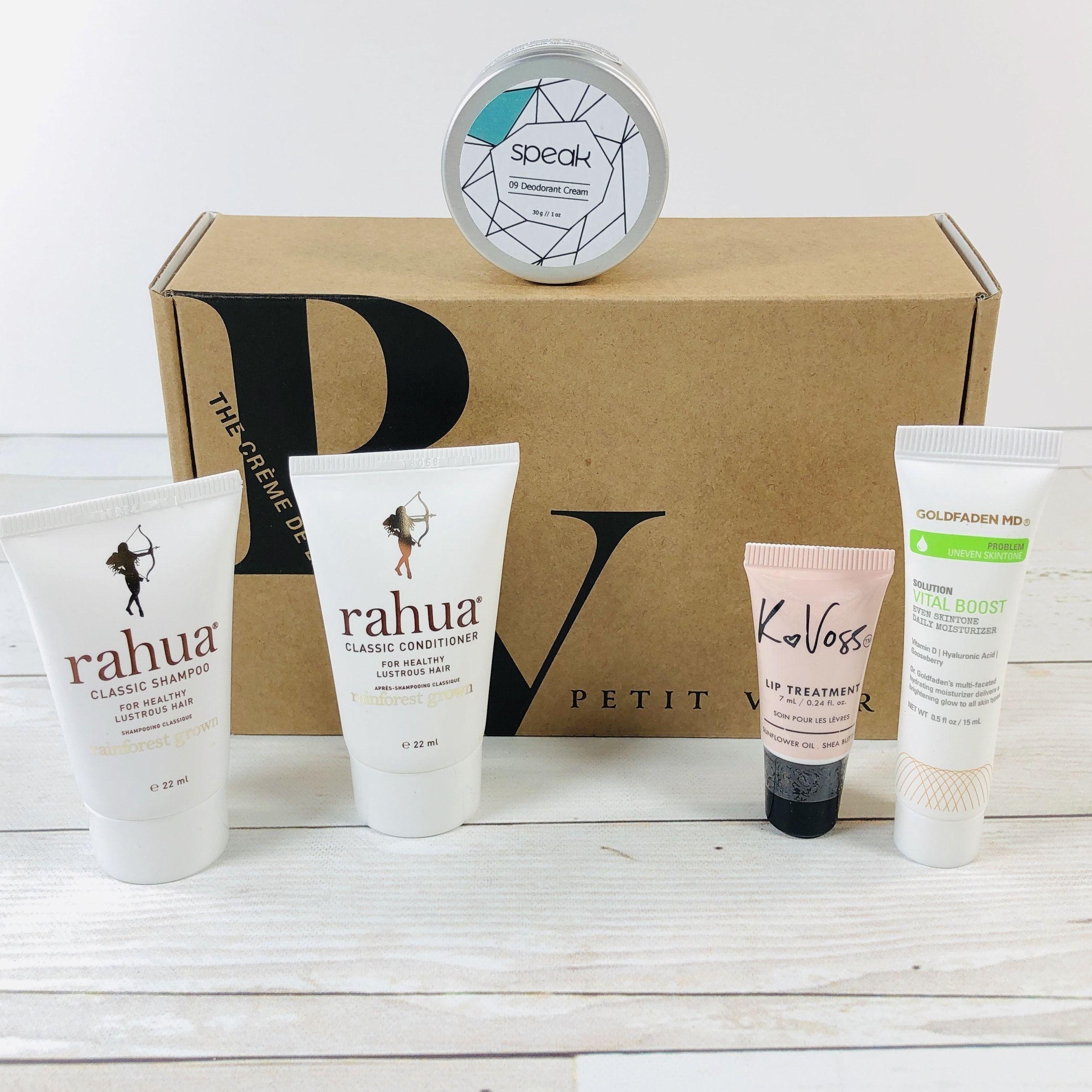 Petit Vour Beauty box subscriptions, Subscription boxes
