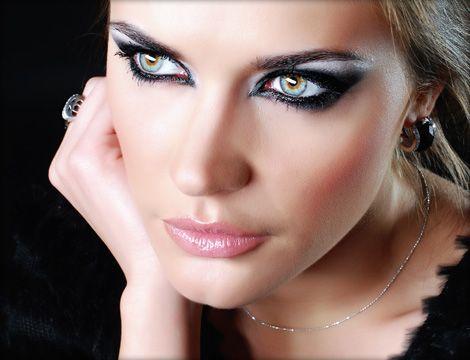 Como pintar los ojos ahumados ojos Pinterest Ojo ahumado, Como
