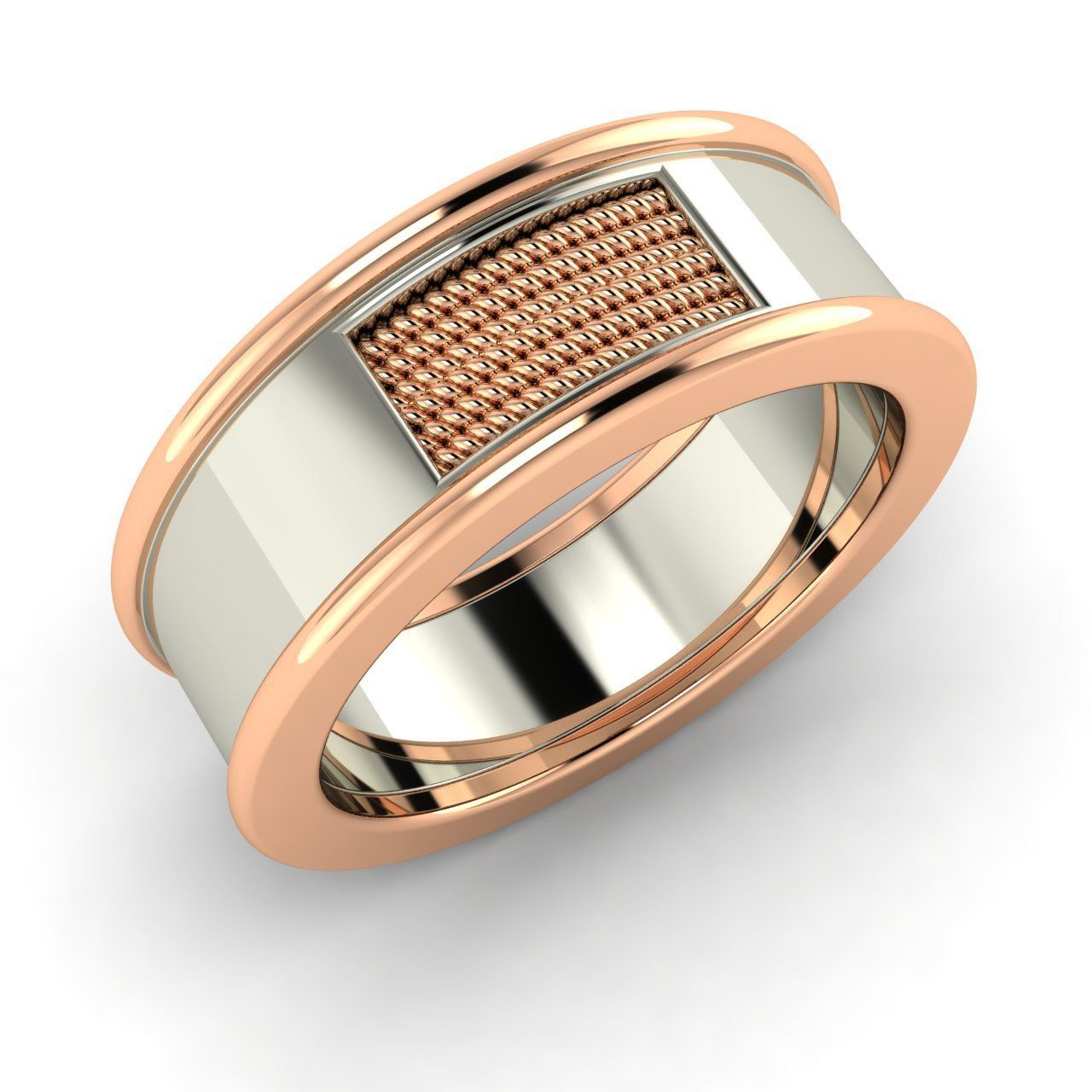 47+ Two tone wedding rings for him ideas in 2021