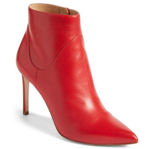 31f438f19144 Women s Francesco Russo Pointy Toe Bootie ( 950) ❤ liked on Polyvore  featuring shoes