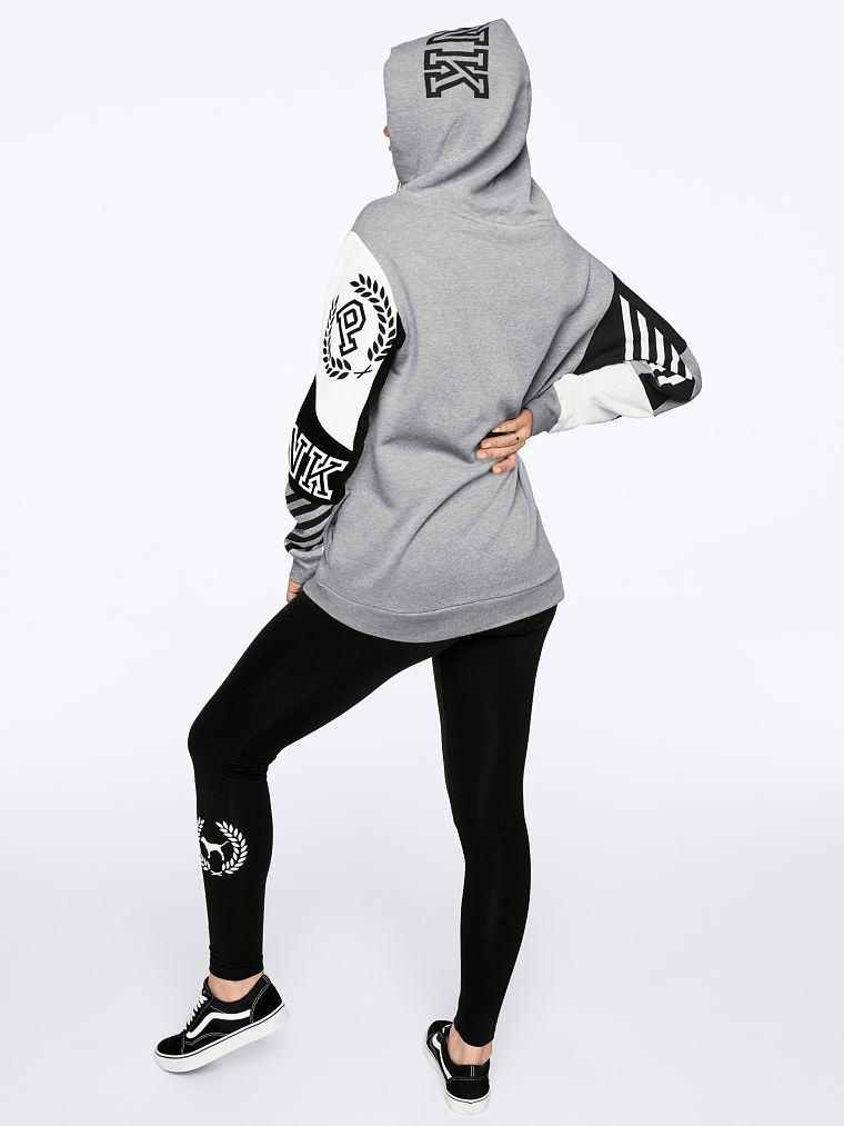 d95455ff52f85 campus crossover gray tunic | VS Style | Pink, Adidas jacket, Vs pink