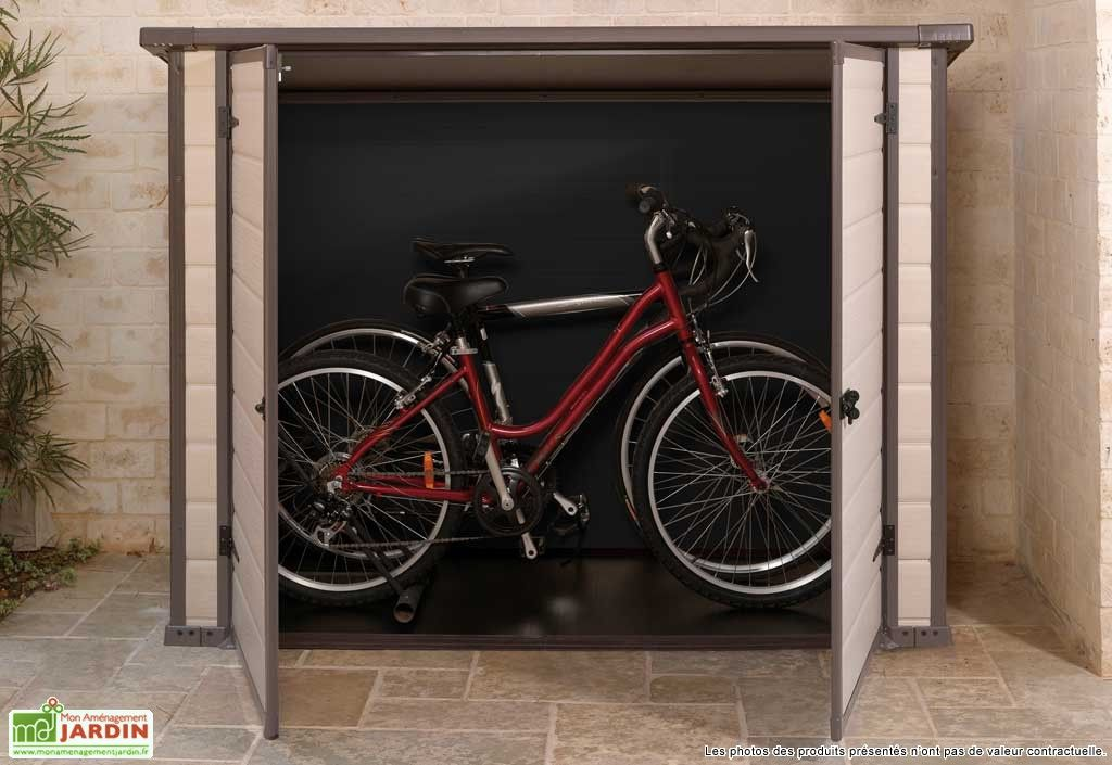coffre de rangement bike and more 201x91x150 abri v lo. Black Bedroom Furniture Sets. Home Design Ideas