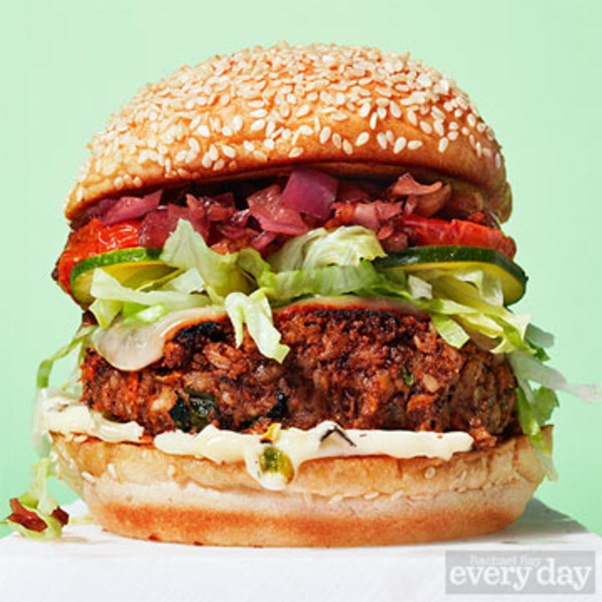 The Best-Ever Veggie Burger.