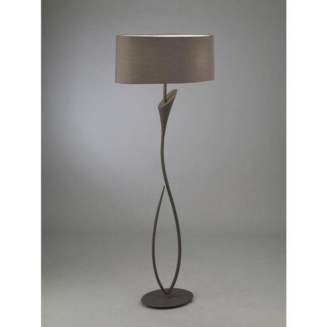 lampadaire lua la redoute 151001 pinterest l mparas de pie l mparas et gris. Black Bedroom Furniture Sets. Home Design Ideas