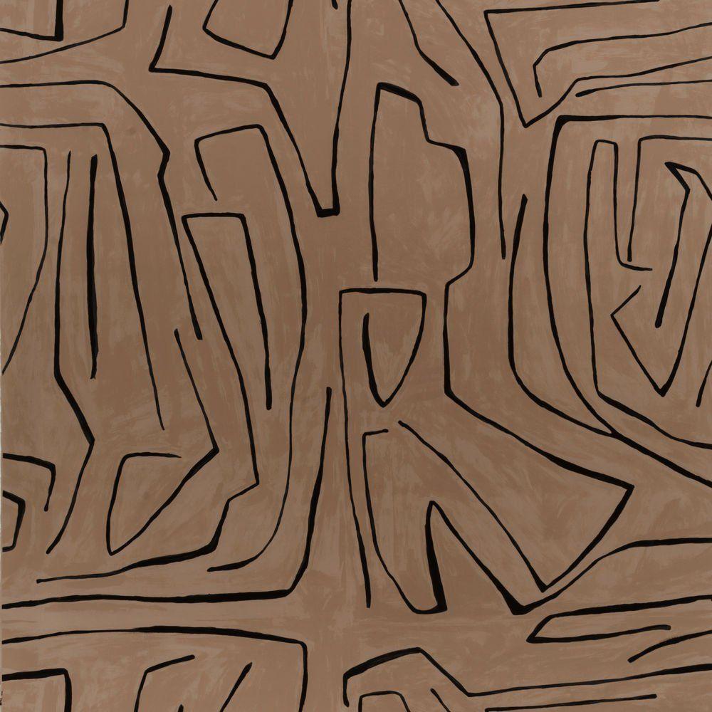 Graffito wallpaper Kelly wearstler wallpaper, Linen