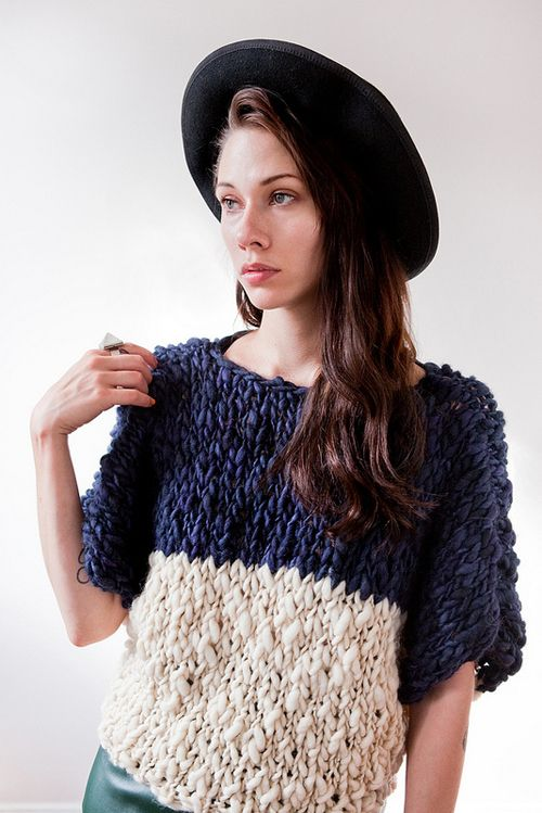 Lovely Chunky Knit By Good Night Day Hand Knitted