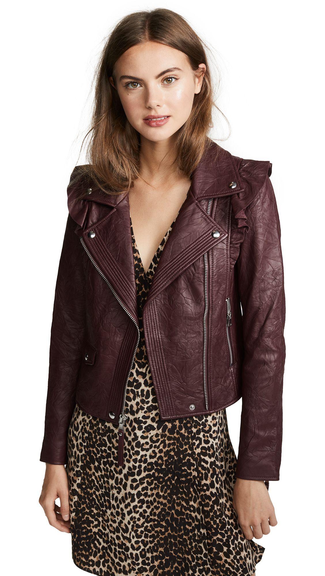 Annika Leather Jacket Leather jacket, Jackets, Everyday