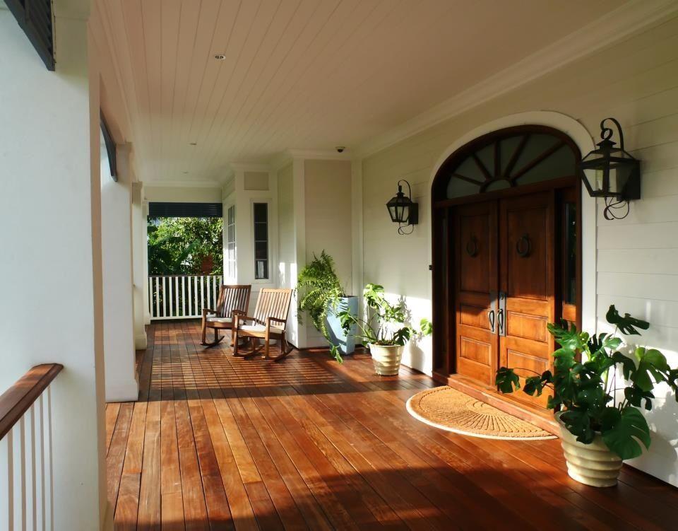 Front porch floor--wood tile? | building a house..sometime soon ...