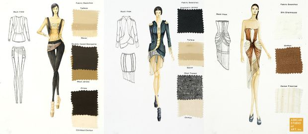 How To Draw 8 Types Of Fabric Fashion Sketching Fashion Illustrations Techniques Fashion Design Drawings Textures Fashion