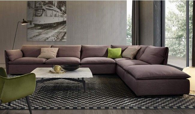 Pegasus Modular Sofa With L And U Shape Options Modern Design Delux Deco Uk