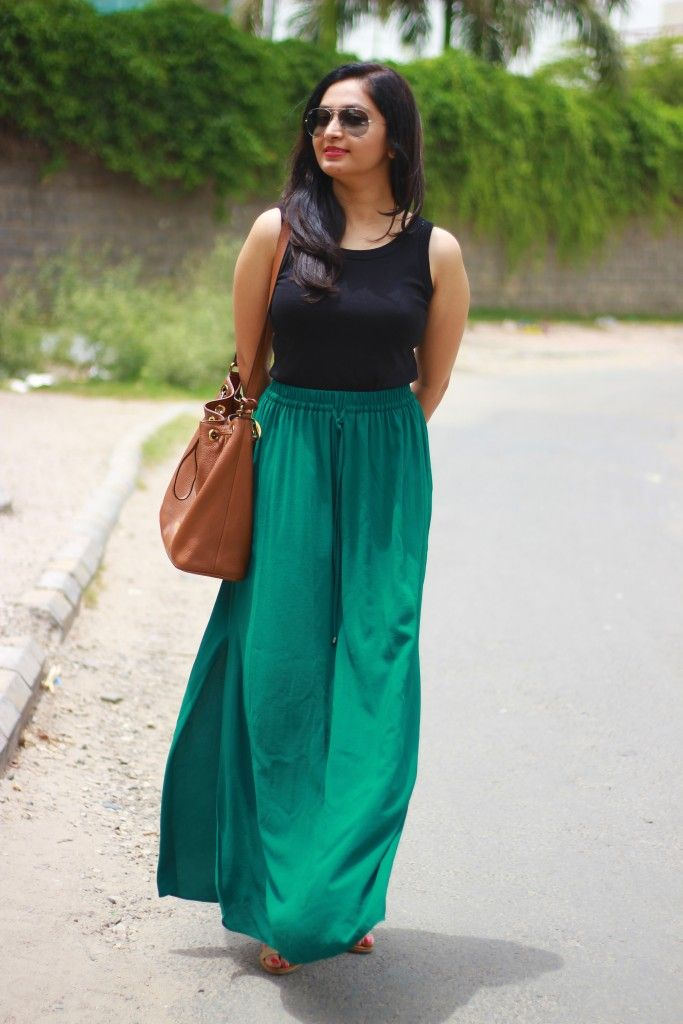767071cdb49 Indian Fashion Blog   How to Style a Maxi Skirt - Fashion Factive ...