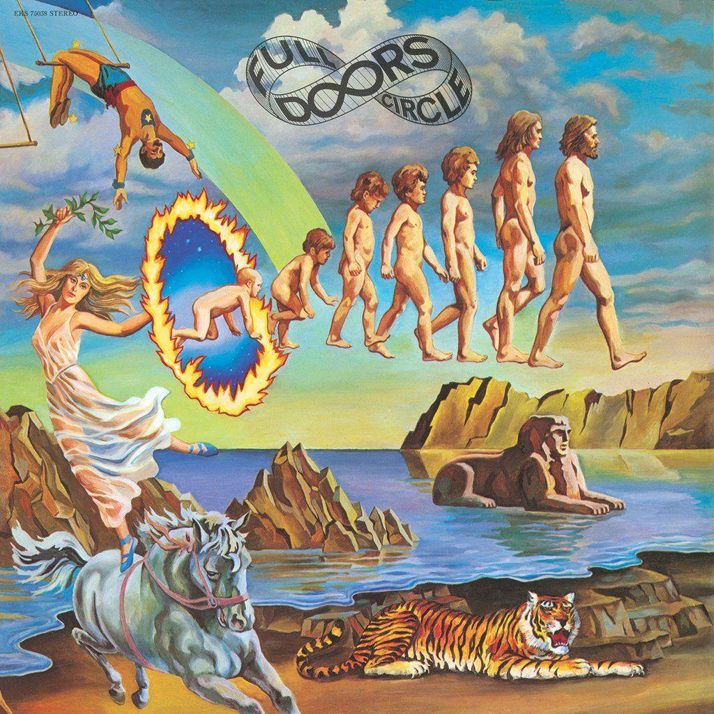 Full Circle Vinyl Rock Album Covers Doors Albums Album Art